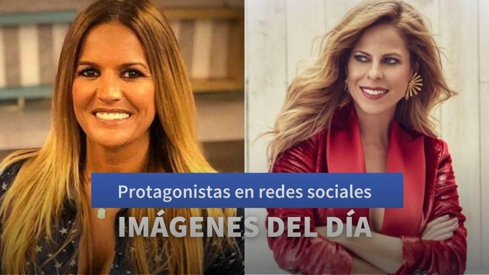 Imágenes del día: la despedida de Pastora Soler a su padre y la reflexión de Marta López