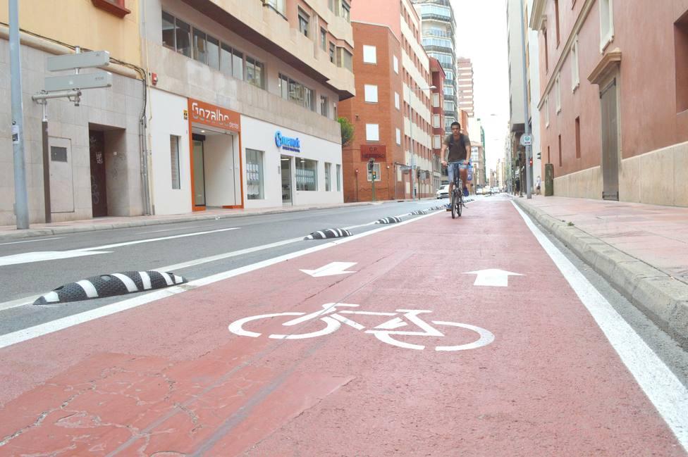 Carril bici en Castellón