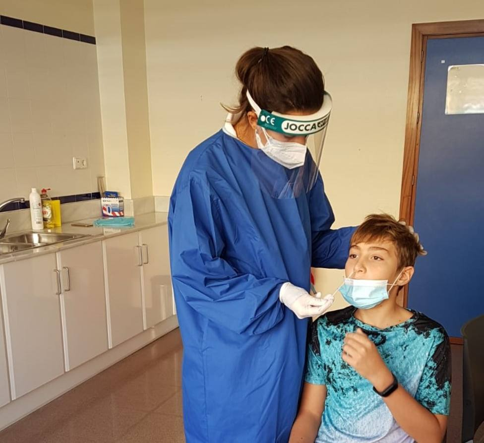 Cartagena empieza a realizar los test de antígenos que permiten diagnosticar la Covid-19 en quince minutos
