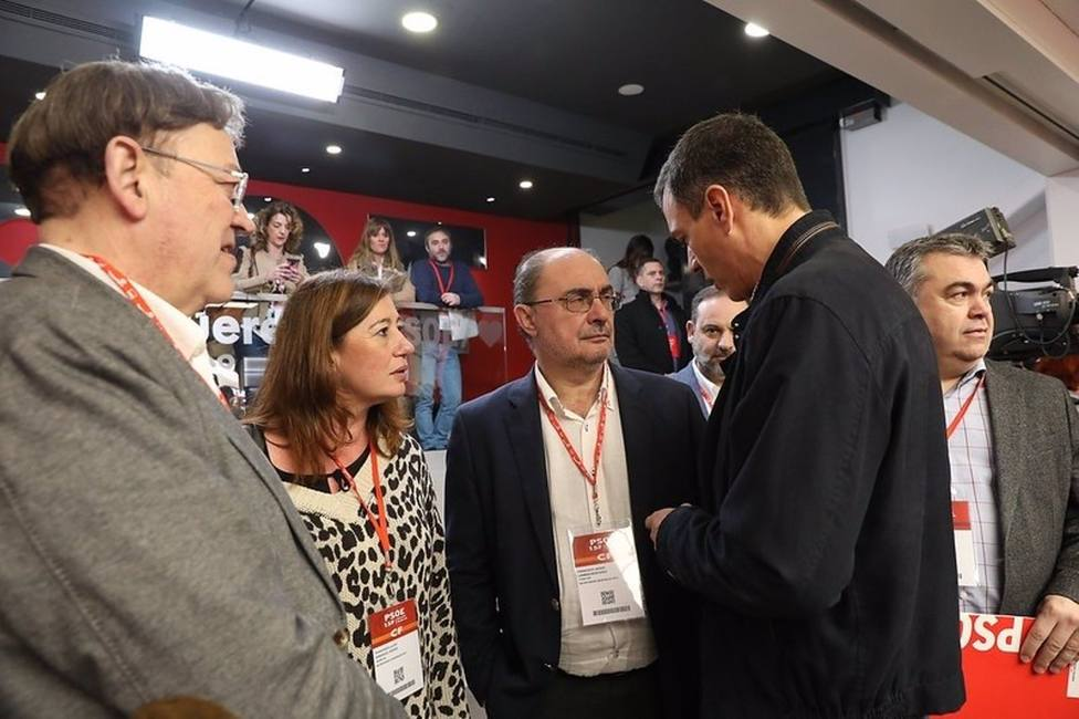 Los líderes autonómicos del PSOE saludan la mesa de diálogo en el campo y apuntan a soluciones por parte de la UE