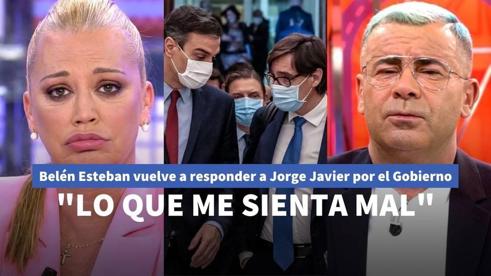 Belén Esteban y Jorge Javier Vázquez
