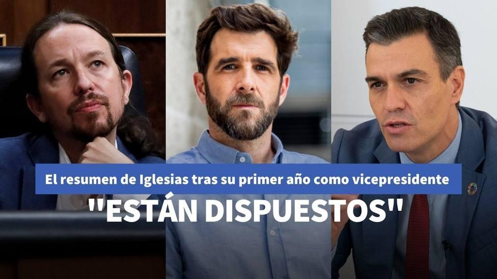 Iglesias sorprende a Gonzo en Salvados con su opinión sobre el Gobierno de Sánchez