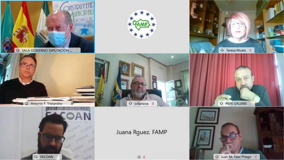 FAMP y la Unión de Autónomos de Andalucía (UATAE) se comprometen a trabajar juntos para reactivar el comercio