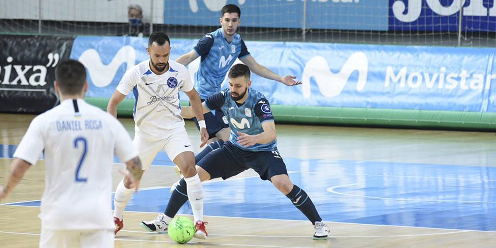 El Inter sufre hasta el último minuto para vencer al Kherson