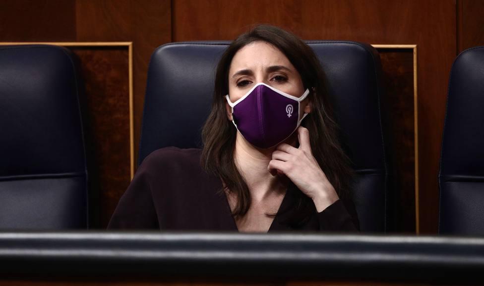 Sánchez impide a Irene Montero llevar la voz del 8-M