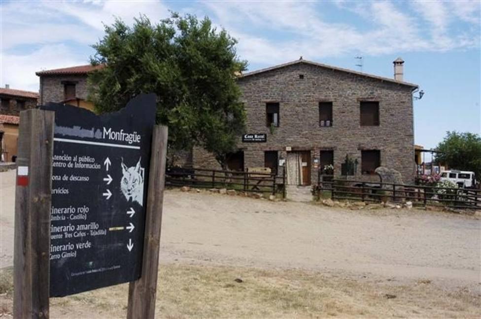 Casa Rural en el Paque Nacional de Monfragüe. Foto: Eduardo Palomo (EFE)