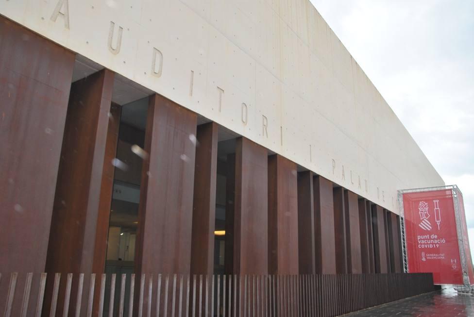 El Auditorio de Castellón abre sus puertas como centro de vacunación masiva