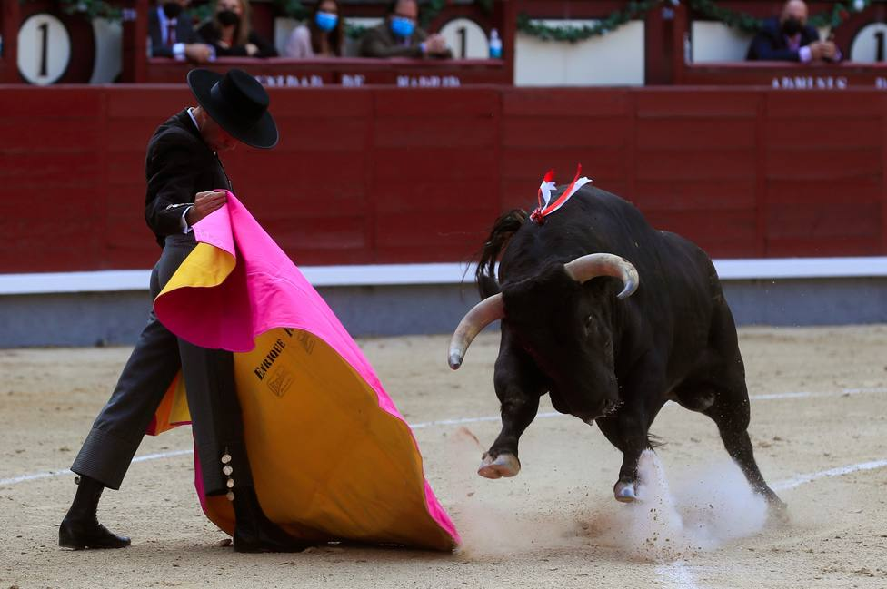 Festival taurino en Las Ventas