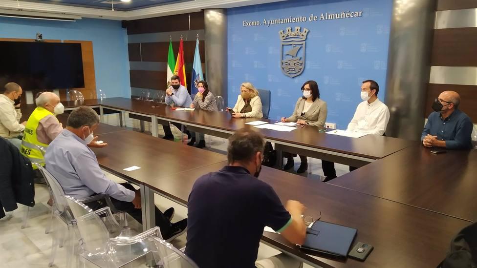 Granada.- Nuevas movilizaciones desde este jueves por las canalizaciones de Rules