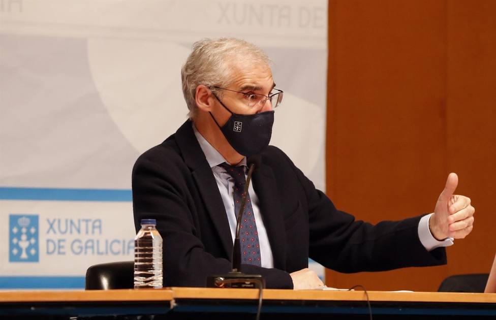 Foto de archivo de una intervención de Francisco Conde - FOTO: Xunta