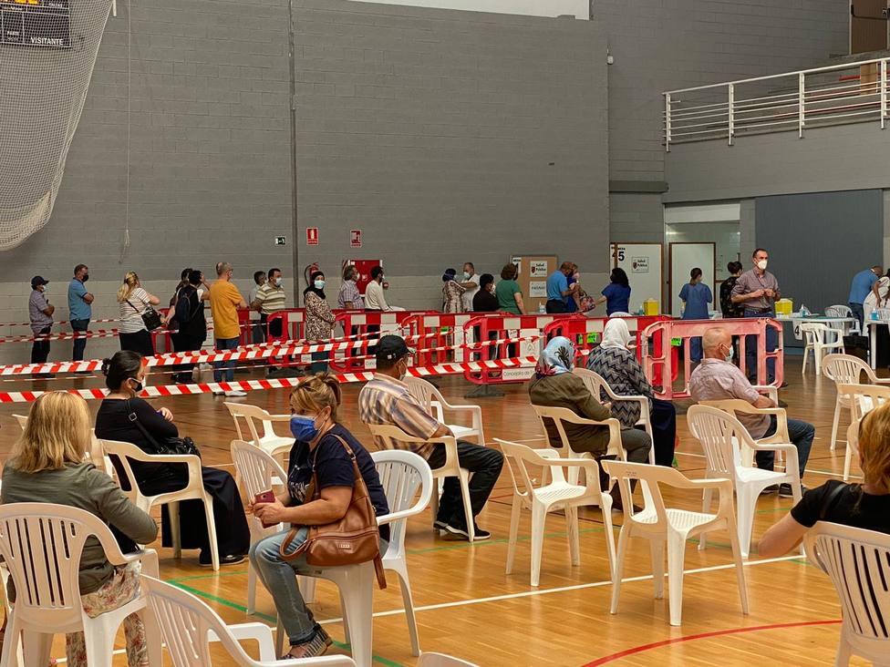 Unos 10.500 habitantes de la comarca de Lorca recibirán la vacuna esta semana