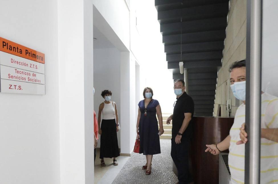 Finalizadas las obras del Centro de Servicios Sociales Comunitarios Centro en la calle Mucho Trigo