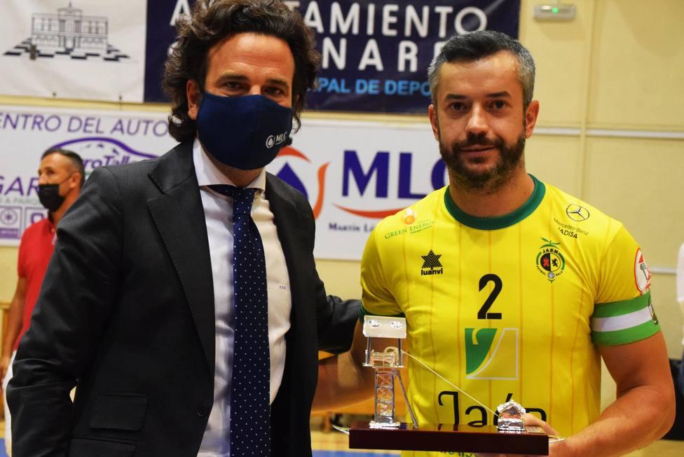 Jaén paraíso Interior Campeon del I Torneo MLC de Fútbol Sala de Linares