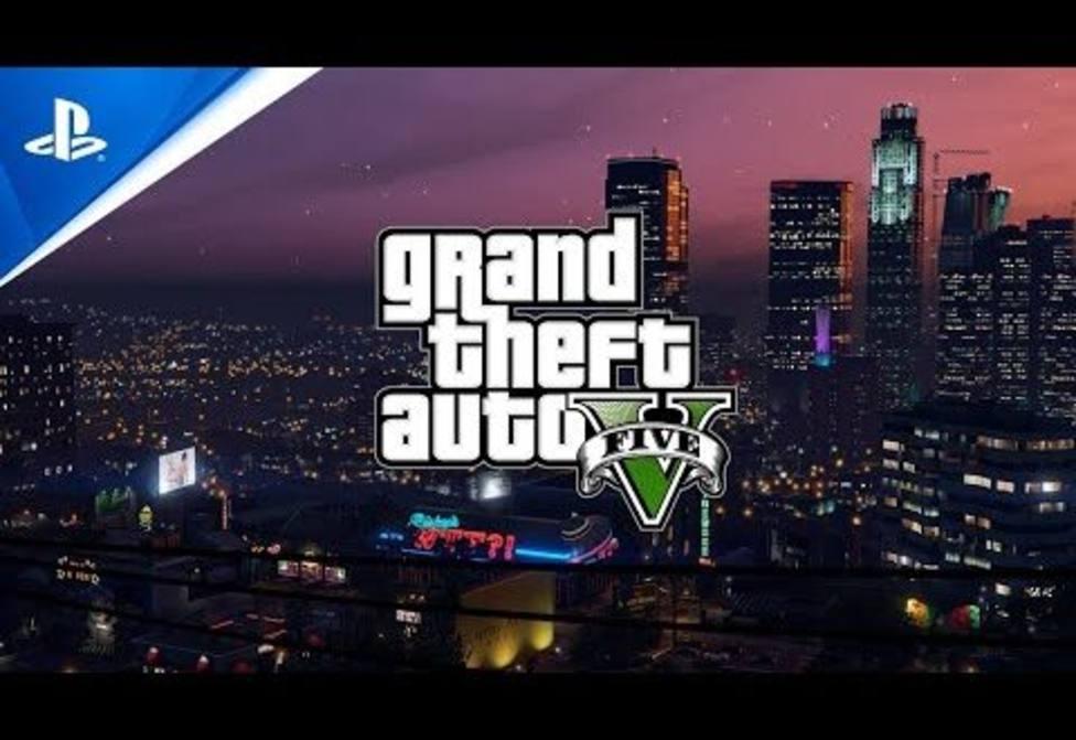 GTA V y GTA Online llegan a Playstation 5 en marzo de 2022