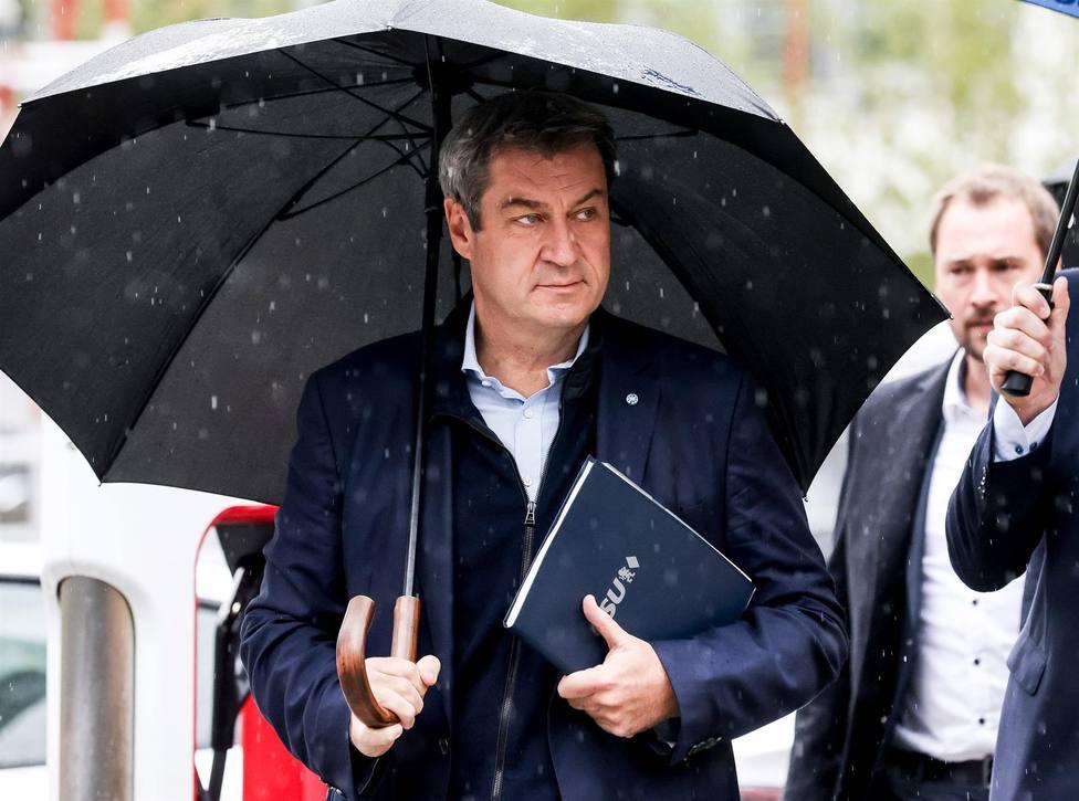Soeder acepta la debacle conservadora en las elecciones pero pide cero concesiones a Verdes y liberales