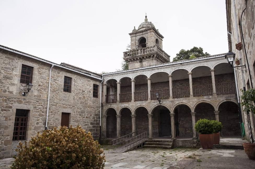 Monasterio de Santa Catalina de Montefaro, en Ares. FOTO: Turgalicia