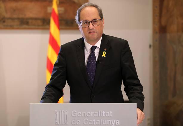 PDeCAT y ERC mantienen abierto el debate sobre si tramitar los PGE pese al aviso de Torra
