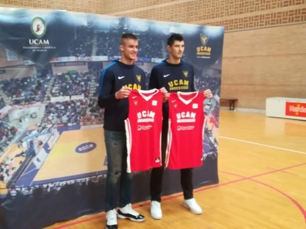 Luka Mitrovic y Dino Radoncic