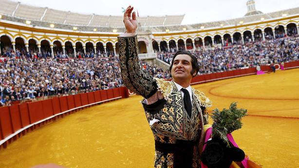 Morante de la Puebla en una de sus actuaciones pasadas en la Real Maestranza