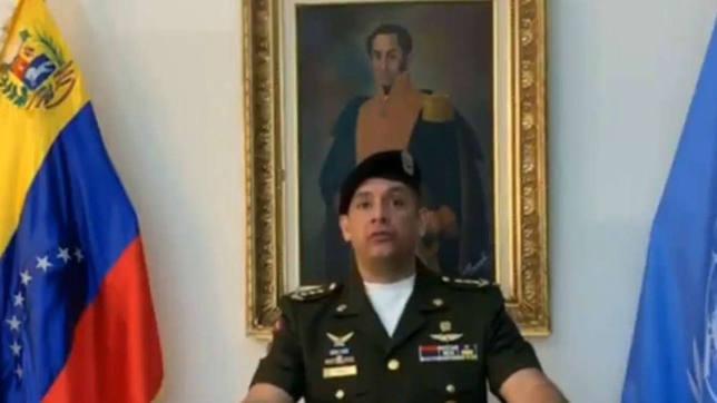 Un alto cargo militar de Venezuela en la ONU reconoce a Guaidó
