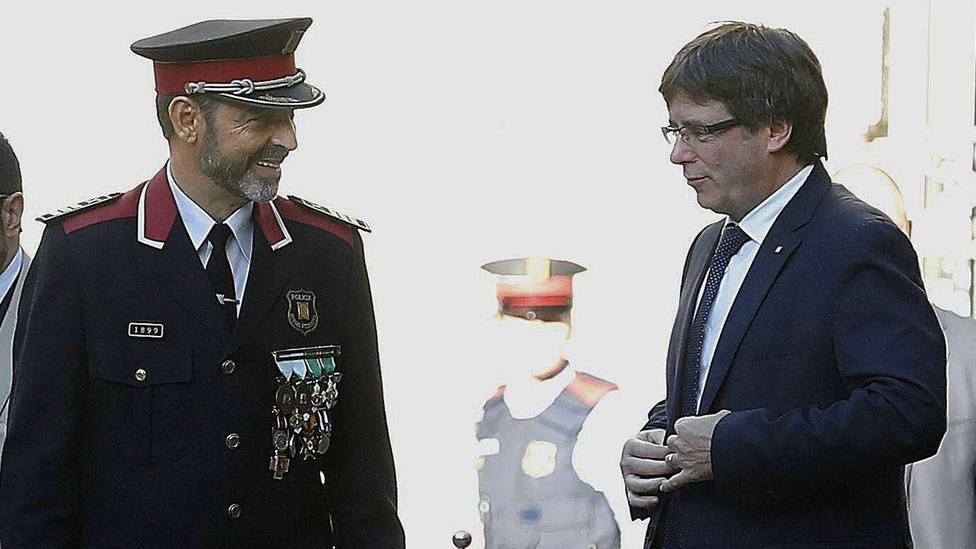 Este era el plan de Trapero para detener a Puigdemont