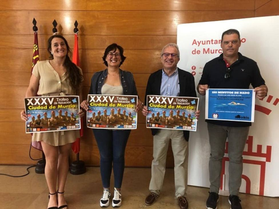 500 nadadores de 26 clubs de 4 comunidades participarán este fin de semana en el Trofeo Ciudad de Murcia