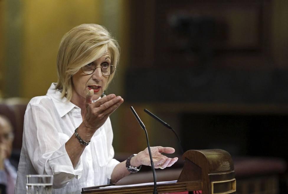 El repaso de Rosa Díez al PSOE de Navarra por aleccionar sobre la memoria de ETA