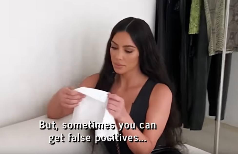 Kim Kardashian da positivo por lopus en un test médico