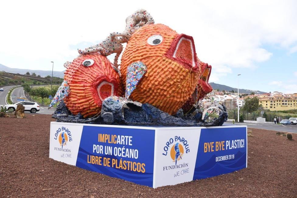 Escultura Loro Parque Los Realejos