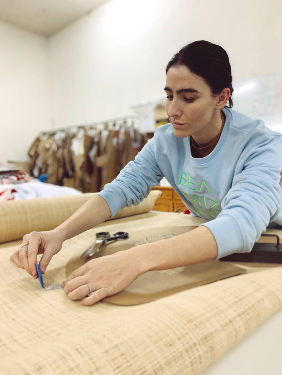 Beatriz Peñalver , diseña la colección Chiringuito