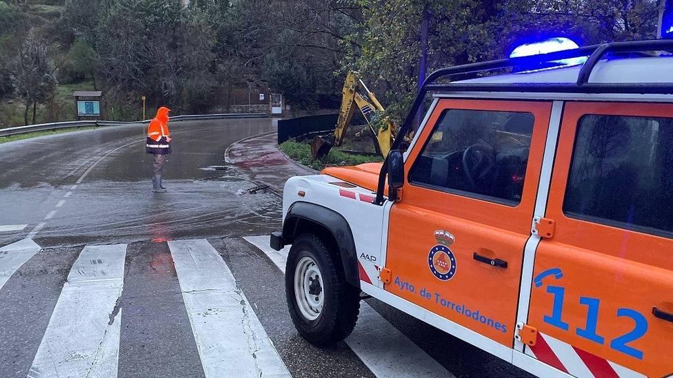 El plan hará frente a incidencias como inundaciones /FOTO: Protección Civil Torrelodones