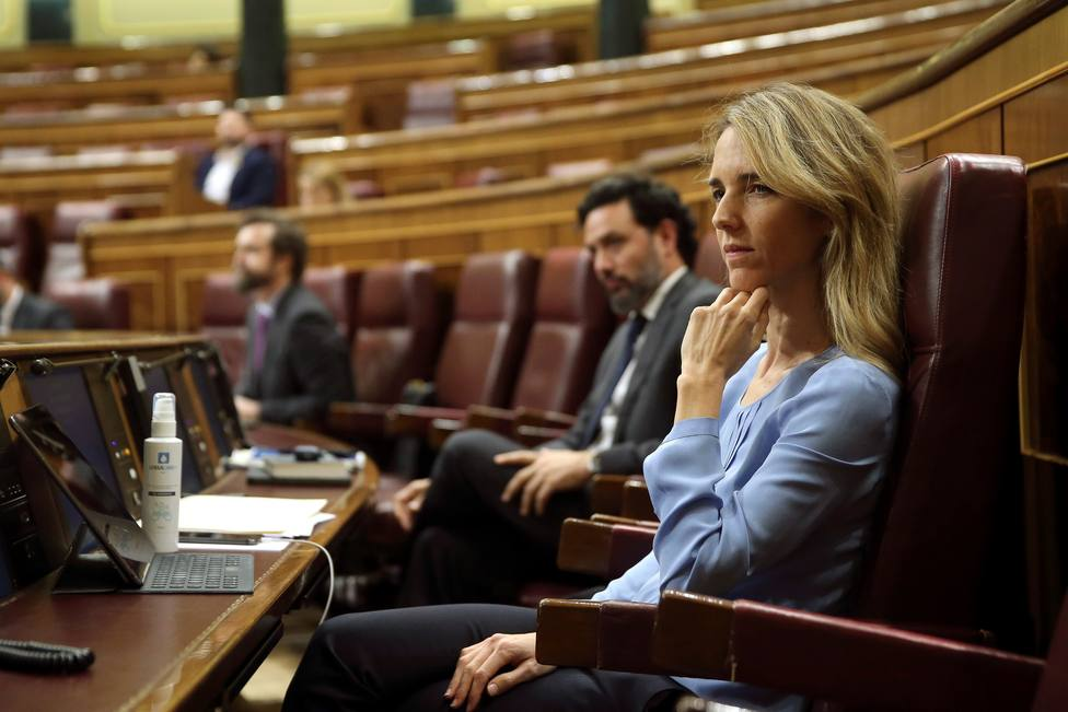 Álvarez de Toledo dice que el Gobierno entrega a Bildu la derogación y cuestiona el apoyo de Ciudadanos