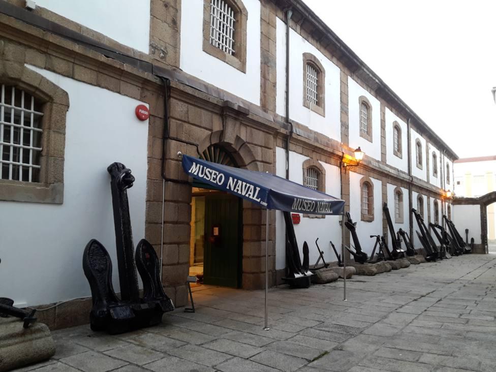 Exterior del Museo Naval de Ferrol