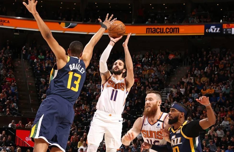 Baloncesto/NBA.- Ricky Rubio se regala una exhibición en su vuelta a Utah