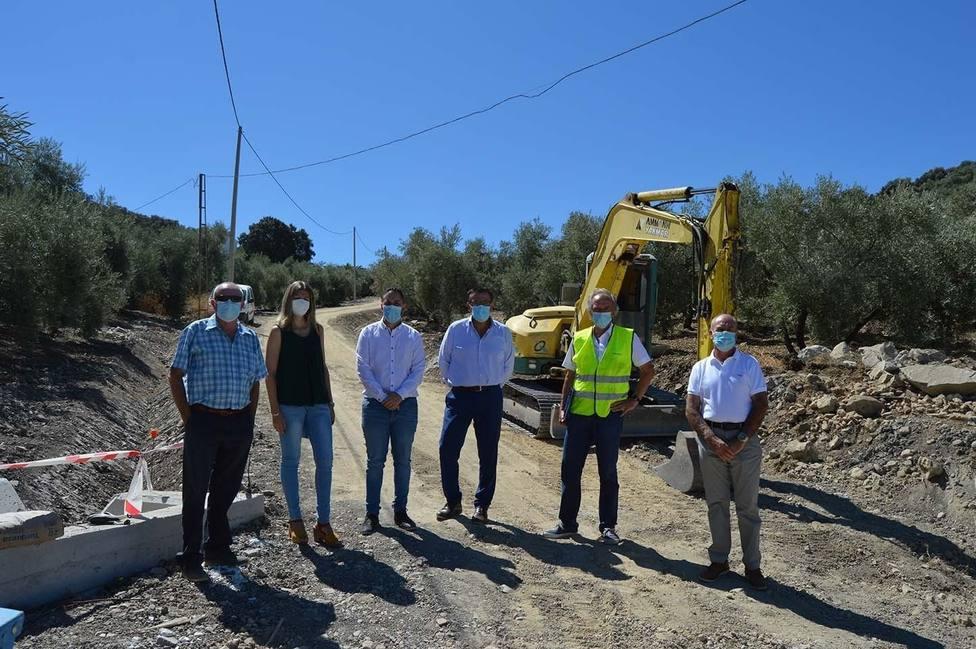 La Diputación invertirá en caminos de Iznájar más de 700.000 euros en colaboración con el Ayuntamiento