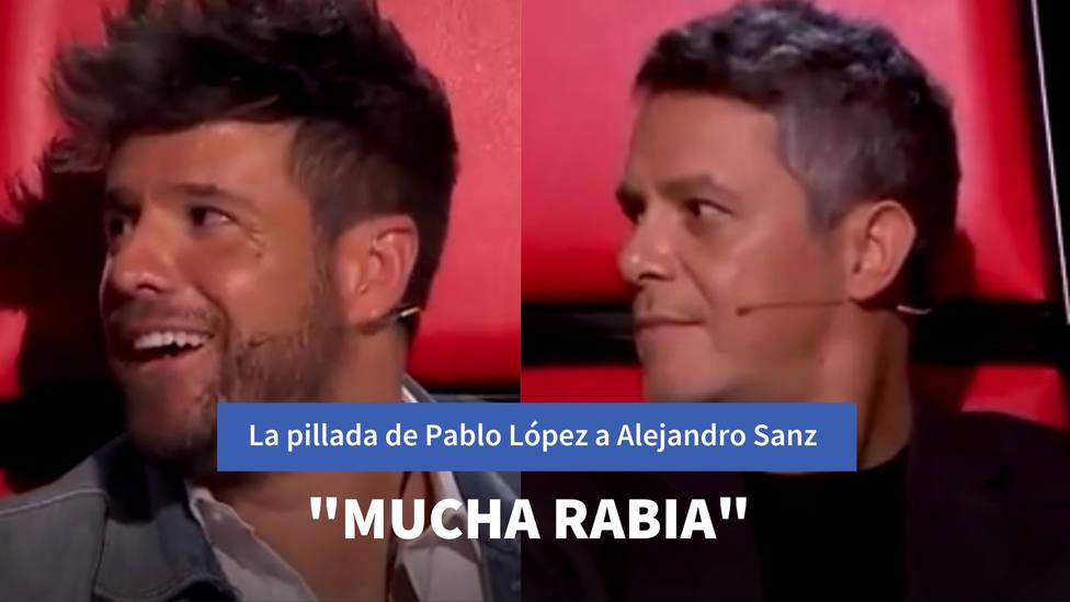 La pillada de Pablo López que hace estallar a Alejandro Sanz: Mucha rabia