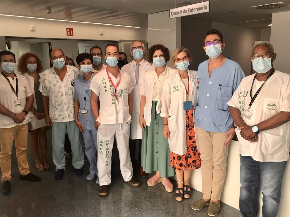 El Hospital Materno Infantil de Almería habilita una planta específica para embarazadas y menores con Covid-19
