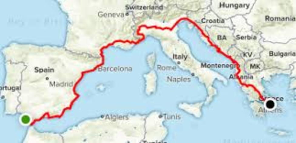 30.000 euros para desarrollar y promocionar la ruta cicloturista 'Eurovelo 8 Ruta Mediterránea'