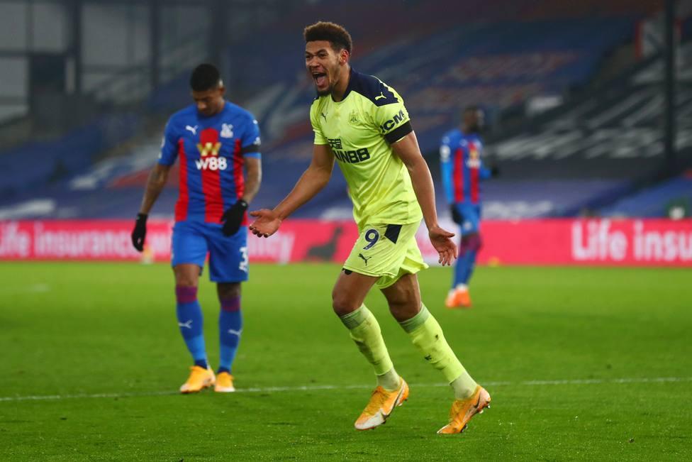 El Newcastle se impone sobre la bocina en casa del Crystal Palace