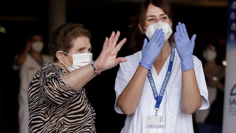 Doria Ramos, primera canaria vacunada contra el coronavirus