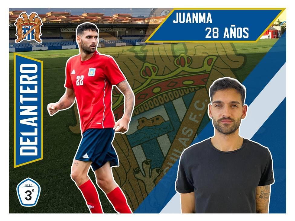 El Águilas FC refuerza su ataque con Juanma González