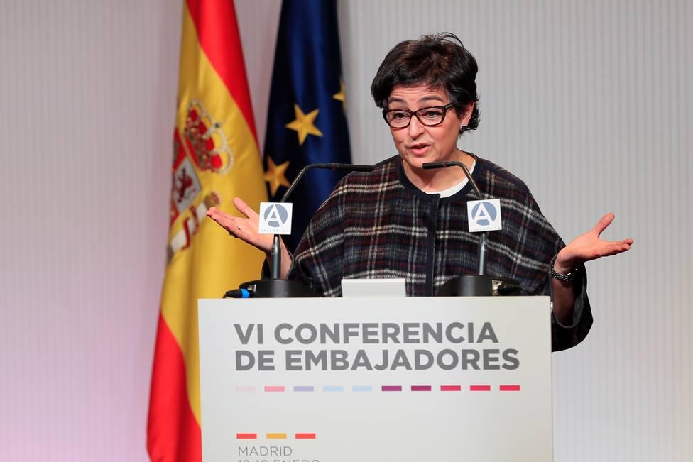 González Laya, obligada a rectificar tras ser desmentida por su propio ministerio: Tengo que matizar...