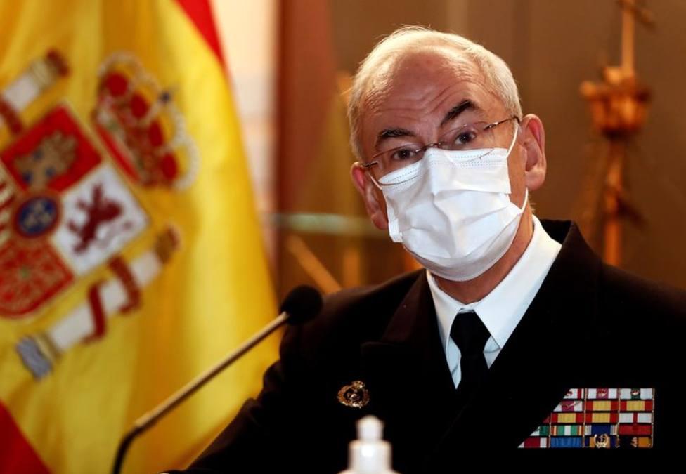 López Calderón, un almirante cercano, directo y con mucho bagaje