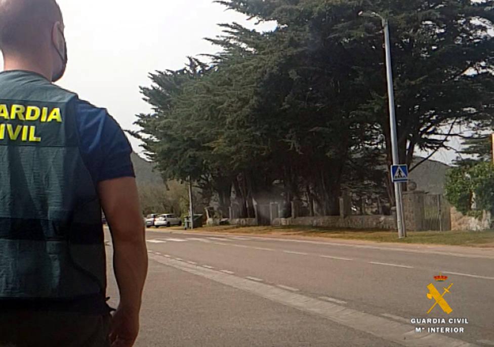 La Guardia Civil pudo detener a uno de los autores del robo