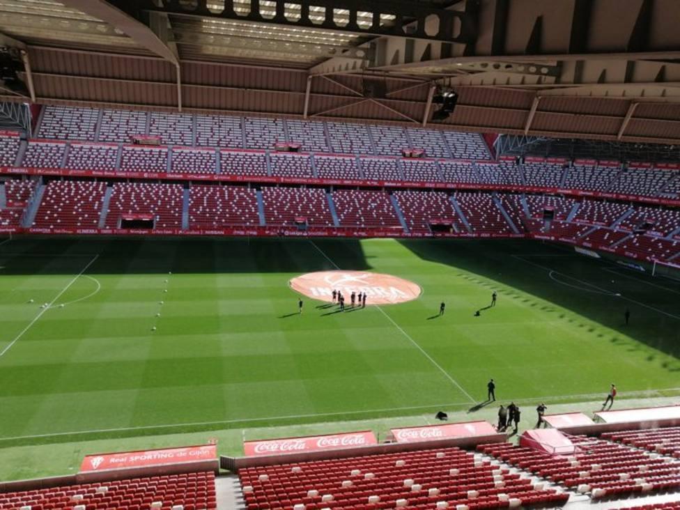 El Sporting recibe al Mirandés con el sonido en directo de COPE Asturias