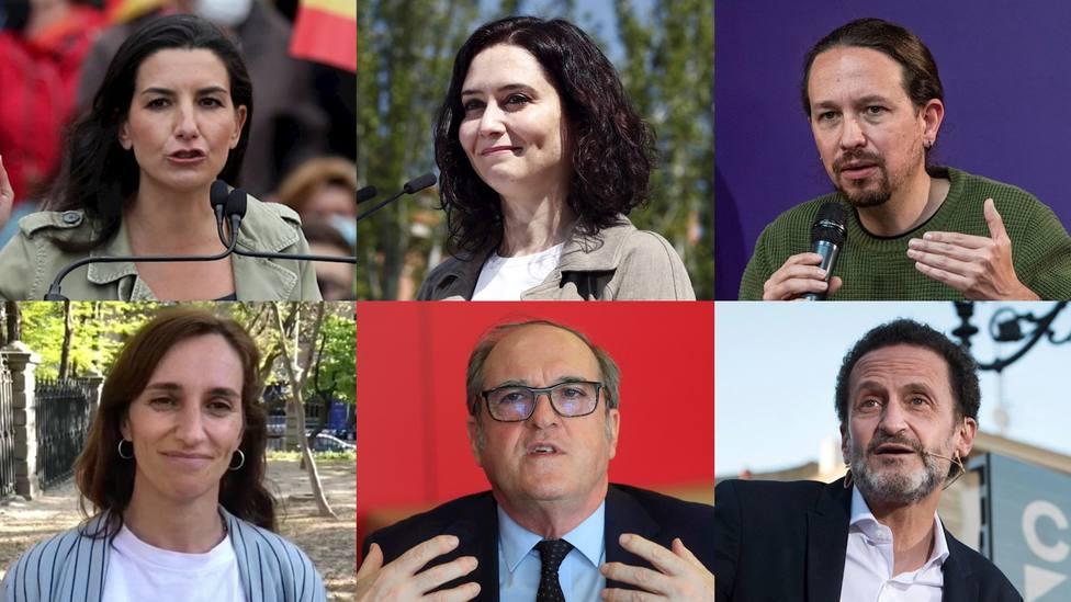 Encuesta | ¿Qué candidato a la presidencia de la Comunidad de Madrid crees que ganará el debate?