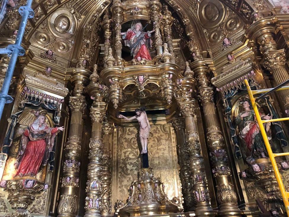 El Ayuntamiento de Calahorra aporta 10.000 euros a la restauración del Cristo de la Pelota