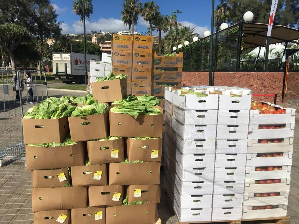 Gran Canaria reparte casi 3 millones de kilos de producto fresco local a ONG y personas sin recursos
