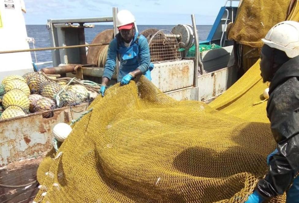 Selección de pesca a bordo