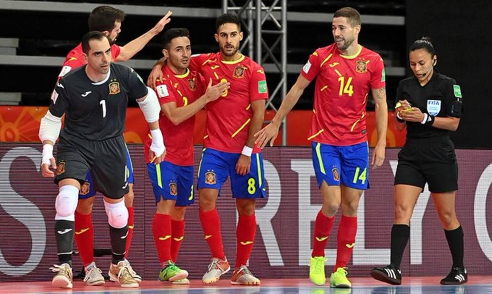 La selección española ya está en octavos del Mundial